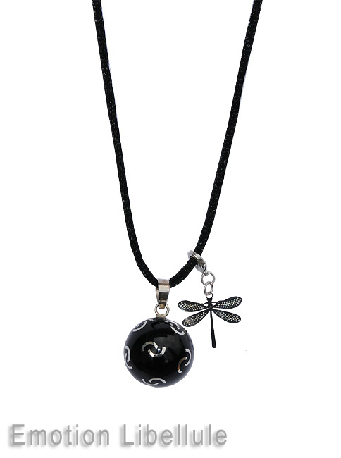Harmony ball with dragonfly emotion charm