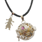 Harmony ball with alice emotion charm